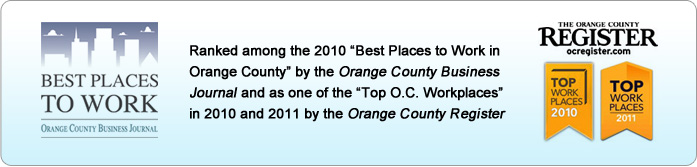 VPI Pet Insurance Company ranked among the 2010 Best Places to Work in Orange County, USA